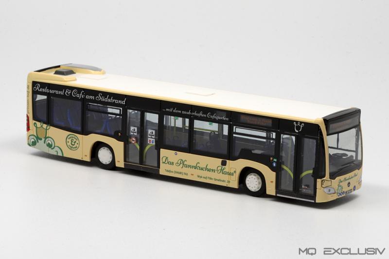 MB Citaro C2 W.D.R. Pfannkuchenhaus Prinzenhof 2 Varianten